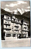 *Hotel Jura Interlaken Switzerland RPPC Vintage Real Photo Postcard C43