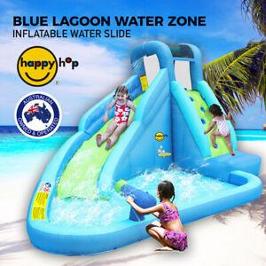 Blue Lagoon Water Slide - Inflatable WaterSlide Jumping Castle - Happy Hop 9317N