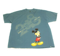 Disney World Light Blue Micky Mouse T Shirt 3XL