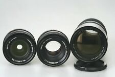 CONTAX / YASHICA - Mount: ML 1,7 / 50  + ML 2,8 / 28mm + ML 4 /  70 - 210mm Zoom