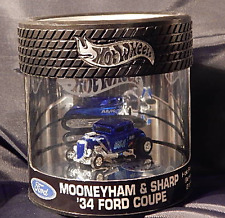 '34 Ford Coupe Mooneyham & Sharpe Hot Rod Series 2/4 Hot Wheels Oilcan Showcase