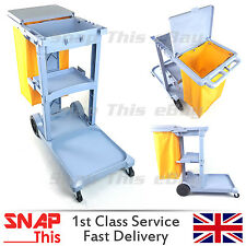 CLEANING JANITORIAL LAUNDRY TROLLEY HOTEL/SCHOOL CLEANER JANITOR HOUSEKEEPING