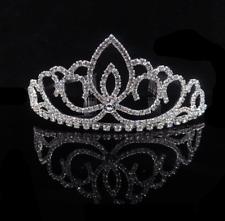 Rhinestone Girl Crystal Tiara Hair Band Bridal Princess Prom Crown Headband CC3