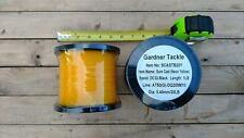 Gardner Sure Cast 20 Lb Test (Gold/Yellow) 1 Lb Bulk Spool 10368 Ft On A Spool