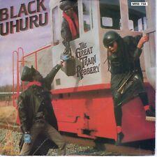 7inch BLACK UHURU the great train robbery HOLLAND 1986 EX   (S1091)