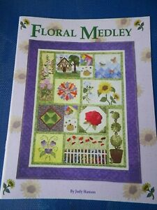 Floral Medley Block Quilt Pattern Booklet by Judy Hansen NEW