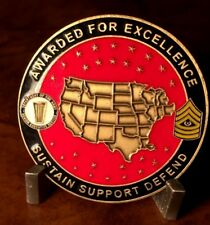 US Army Installation Management West Region Award of Excellence Challenge Coin