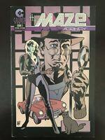 Maze Agency #3 first printing original 1997 Adam Hughes Caliber Comic Book