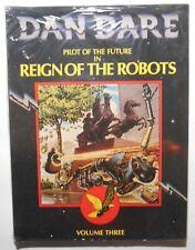 Dan Dare, Vol 3  Reign of the Robots (1981, Dragon's Dream) 1st pb ed *SEALED*