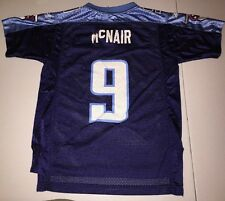 Steve McNair Tennessee Titans Jersey size YOUTH Medium by Reebok, with flaws