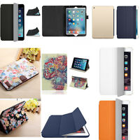 Ultra Sottile Magnetica Smart Stand Pelle Case Cover Custodia Per iPad 234 Air