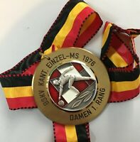 1976 German ten pin bowling medal BSKV 70mm *[14839]