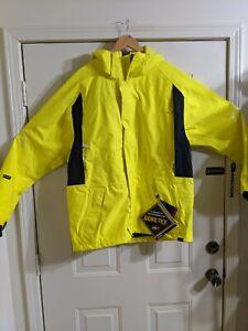 Sessions PREMIUM Recco Snow Jacket Mens Large Bright Yellow Original Retail $395