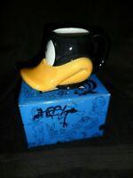 1995 Applause Looney Tunes Daffy Duck Figural Mug in Original Box