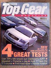 TOP GEAR MAGAZINE JUL-1999 - BMW M5 E39, Jaguar XJR, Mondeo ST200, Accord Type-R
