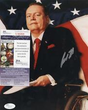 LARRY FLYNT HUSTLER MAGAZINE SIGNED AUTOGRAPHED 8X10 PHOTO JSA V66564