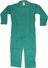 Size 3Xl Condor Flame Resistant Green Coveralls Welding Jumpsuit 100% Cotton