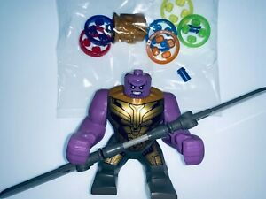 LEGO MARVEL GIANT THANOS WITH WEAPON AND SEALED GAUNTLET FROM SET 76192 - NEW