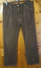 Mens Canali  Brown Jeans Size 54 UK 38 Leg 29