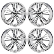 "19"" KIA SORENTO PVD CHROME WHEELS RIMS FACTORY OEM SET 4 74688"