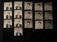 Persis Khambatta VINTAGE Oversize 11x14 CONTACT SHEET By Harry Langdon OS94