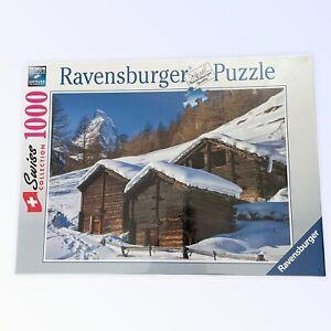 NEW RARE RAVENSBURGER ZERMATT Jigsaw Puzzle Swiss Collection 894987 Matterhorn