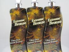 LOT of 3 EXTREME BRONZE Tanning Lotion by Supre