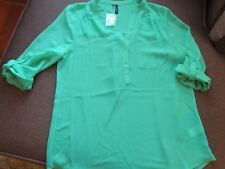 Maurice Blouse Shirt Top S Sheer NEW NWT SeXy