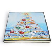 DIY Christmas Tree Special Shaped Diamond Painting 60 Pages A5 Notebook #ORP