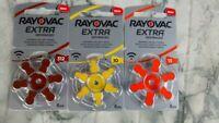 PILE / Batteria RAYOVAC EXTRA 10,13,312 Apparecchi Acustici, Protesi acustico