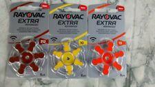 PILE / Batteria RAYOVAC EXTRA 10,13,312 Apparecchi Acustici, Protesi acustica