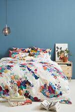 Anthropologie 💐 Delrey 💐 king duvet cover NWT actual pic 👀