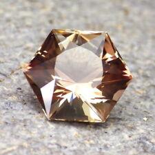 PINK-GOLD-REDDISH OREGON SUNSTONE 7.07Ct FLAWLESS, BEAUTIFUL BRILLIANT GEMSTONE
