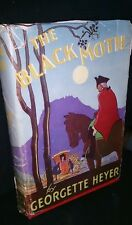 The Black Moth by Georgette Heyer 1952 Australian edition Hardback Dustjacket