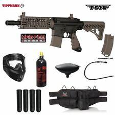 Maddog Tippmann Tmc Magfed Silver Paintball Gun Marker Package Black Tan