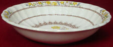 """SPODE china BUTTERCUP blue/black stamp COUPE CEREAL BOWL 6-1/4"""""""