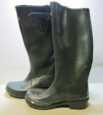 Town & Country TFW604 Pull On Knee Rubber Boots Green Men's Size 7 NEW