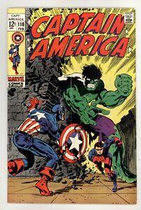 Captain America 110 VG 4.0 Steranko Marvel Comics