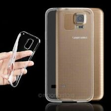 Transparent Clear Silicon TPU Soft Full Cover Case For Samsung GALAXY S5 I9600