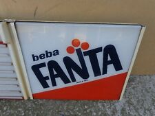 FANTA LIGHT SIGN COCA COLA, FANTA ORANGE 70s.