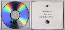 ASH Numbskull 1999 UK 3-trk promo test CD Nirvana
