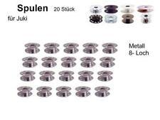 Spulen für Juki INDUSTRIENÄHMASCHINE, Metall, 8 Loch 20 Stück
