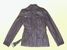 DOUX veste Femmes Faux Cuir similicuir Blouson motard mi-saison gr. M