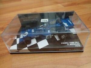MINICHAMPS 1/43 Tyrrell Ford 007 Patricio Depailler Pieza 1974 F1 De 400 740004