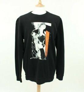 Givenchy Black Graphic Sweatshirt Jumper Size M Cuban Fit