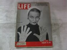 Life Magazine February 25th 1952 Queen Elizabeth's Nurse Published By Time mg526