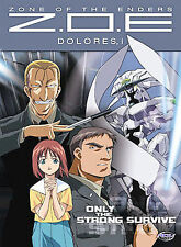 DVD Zone of the Enders (ZOE) - Dolores, i - Only the Strong Survive (Vol. 5) - A