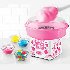 COTTON CANDY MAKER MACHINE ~ HARD or SUGAR-FREE ~ NOSTALGIA ELECTRICS PCM405WMLN