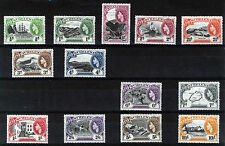 ST HELENA 1953 DEFINITIVES SG153/165 MNH
