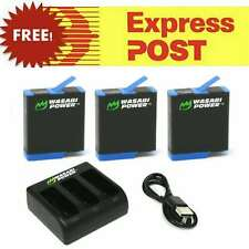 Wasabi Power Battery and/or Dual/Triple Charger Kit for GoPro HERO8 7 6 5 4 3+ 3